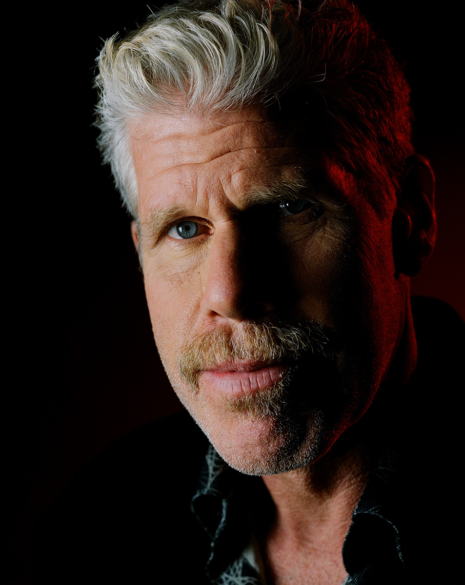 Ron Pearlman, copyright Astor Morgan